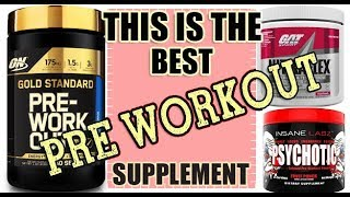 How to Choose the Best Pre-Workout ? For Beginners & Advance