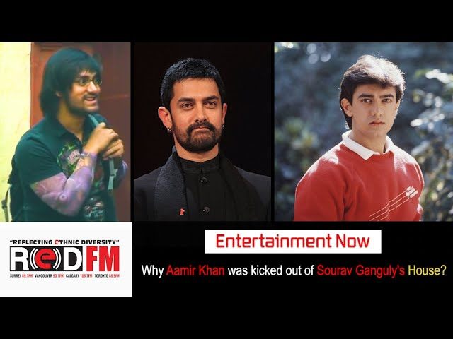 Unknown Story - Why Aamir was kicked out of Sourav Ganguly house?