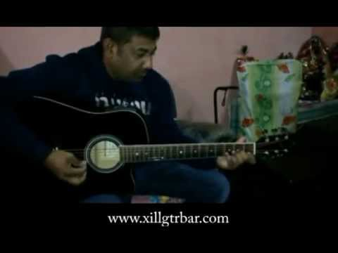 Guitar guitar chords of khamoshiyan : Tu Har Lamha Khamoshiyan Guitar Plucking - YouTube
