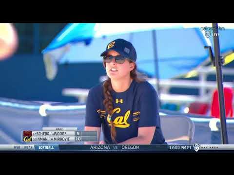 Colorado Mesa vs CAL - NCAA Women's Beach Volleyball (April 7th 2018)