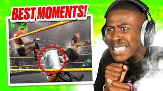 Reacting to the Best WWE Moves of May 2021