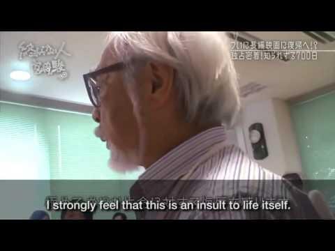 Miyazaki interview, 11/13/2016