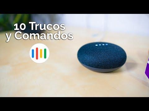 10 TRUCOS y COMANDOS para tu Google Home