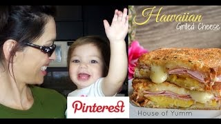 Pinterest Recipe: Hawaiian Grilled Cheese Sandwich