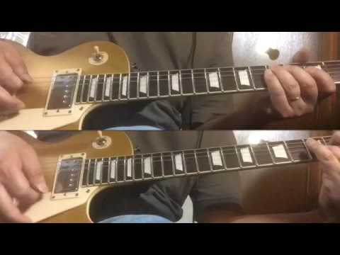 Billy Joel Movin\' Out Guitar Cover - YouTube