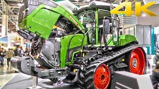 Новый гусеничный трактор FENDT 943 Vario MT - премьера в России 2018