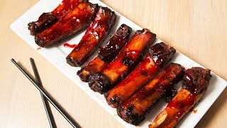 Chinese Barbecue Char Siu Spareribs Recipe 叉燒排骨