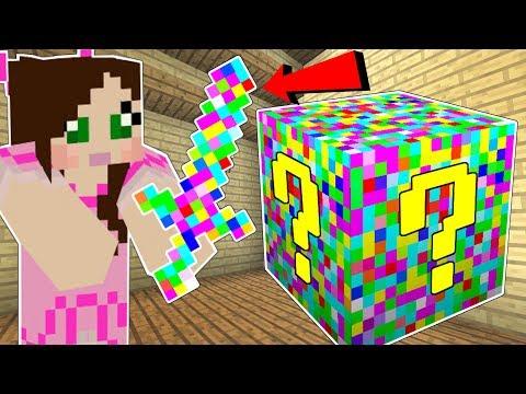 Minecraft: GLITCH LUCKY BLOCK!!! (GLITCHES, ERRORS, & MISSING TEXTURES!) Mod Showcase