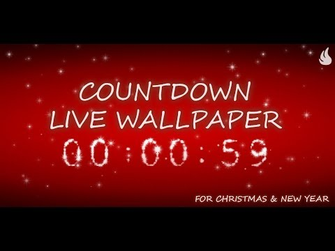 countdown live wallpaper countdowns for your favourite holidays christmas new year 2018 and valentines day