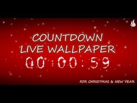 Countdown Live Wallpaper - YouTube
