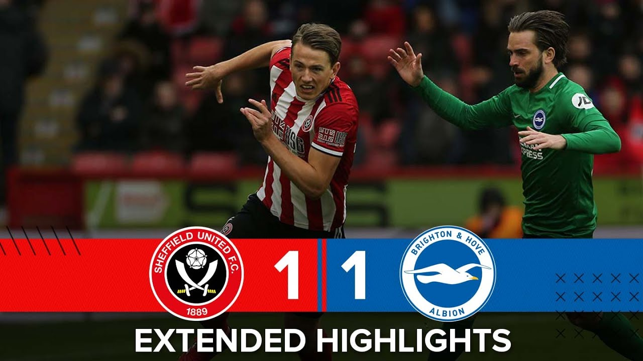Sheffield United 1-1 Brighton & Hove Albion | Extended Premier League highlights