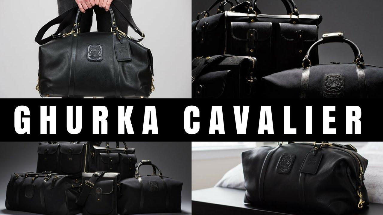 fbd03730e The Best Luxury Travel Bag - Ghurka Cavalier Review - YouTube