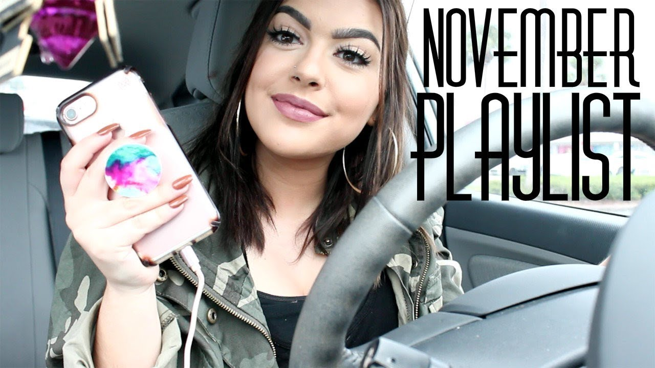 Download Drive With Me + November Playlist | Marissa Paige