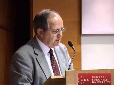 Juan E. Méndez, lauded human rights and legal scholar, delivers CEU's 2010 Nowicki Lecture