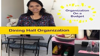 How to Organise a Dining Hall | How to keep dining table clean