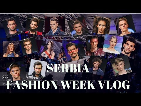 VLOG | Serbia Fashion Week 2017 - Sta jedu modeli?