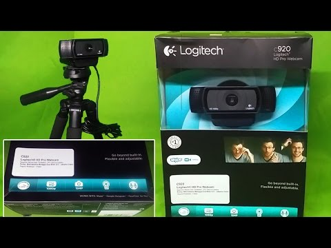 Logitech C920 HD Pro Webcam - Unboxing & Quick Review #INDON