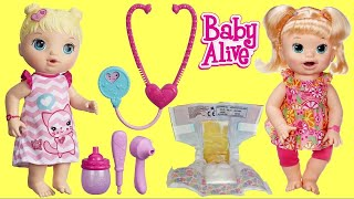 BABY ALIVE Snackin' Noodles Baby with LOL Surprise Dolls + MY PAL Dolls Autism Awareness