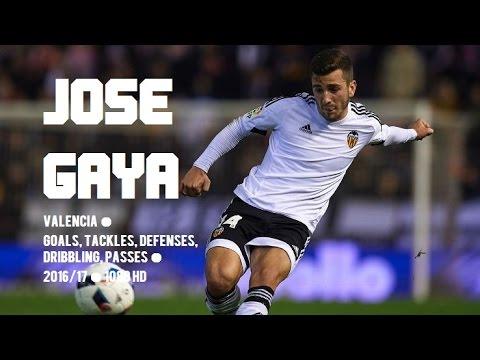JOSE GAYA ● Valencia ● Goals, Tackles, Defenses, Dribbling, Passes ● 2016/17 ● 1080 HD