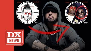 """Eminem Implies Diddy Had Tupac Killed On His """"Killshot"""" Diss To MGK And The Internet Reacts"""