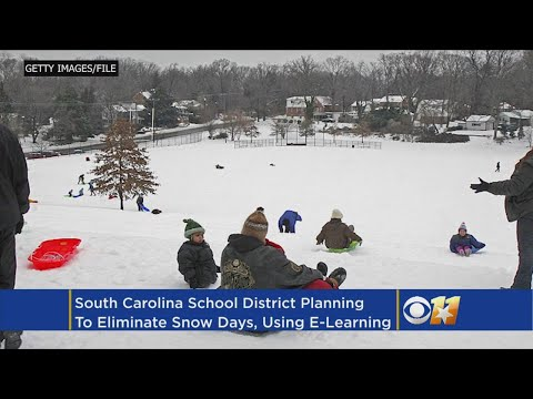 Craig Stevens - No more snow days! School districts use tablets to eliminate snow days