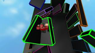 ROBLOX Obby King - Neon Obby [CLASSIC] (Perfekter Lauf)