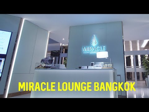 Miracle Airport LOUNGE REVIEW Bangkok (BKK) | Bamboo Garden