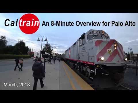 Caltrain   a Palo Alto Overview