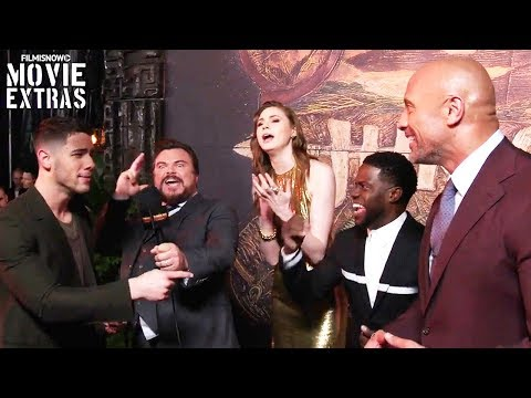 Jumanji: Welcome to the Jungle  US Premiere with cast