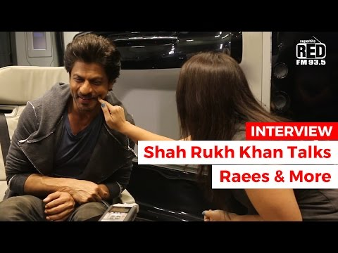 INTERVIEW: Shah Rukh Khan Talks About Raees & More | RJ Jiya