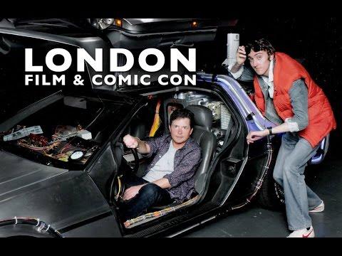 Cosplay Vlogs | London Film and Comic Con 2015 | I MEET MICHAEL J FOX!!! | #19 | HD