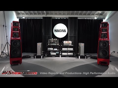NAGRA, HD Amps, HD DAC, Kronos Pro and SCPS, NAGRA T Tape Deck, Wilson Audio Alexx, High End Munich