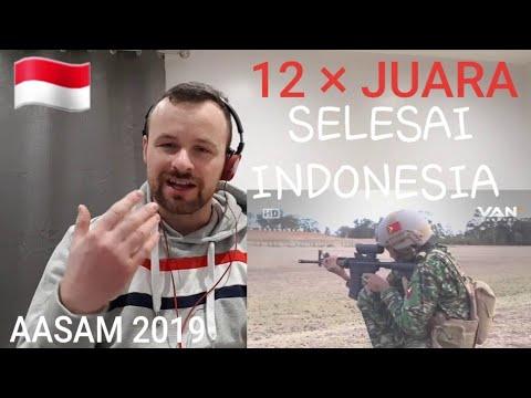 AASAM 2019 INDONESIA Kembali Juara Umum Untuk Ke 12 Kalinya..Reaction