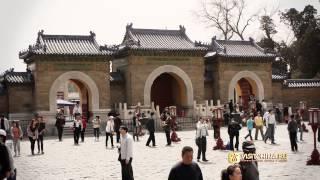 храм неба в пекине(Храм Неба (Tiāntán) - вторая по посещаемости достопримечательность Пекина после императорского дворца. Это..., 2012-10-24T05:51:55.000Z)