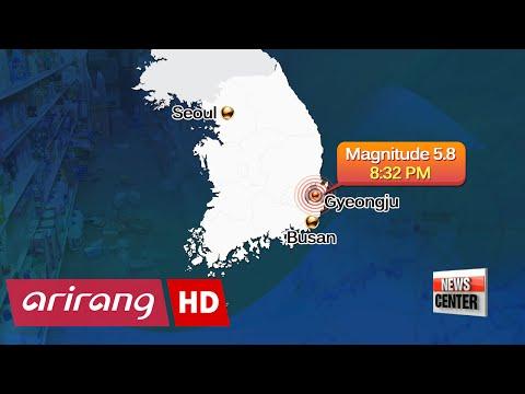 5.1 Earthquake in Gyeongju, followed by 5.8 aftershock