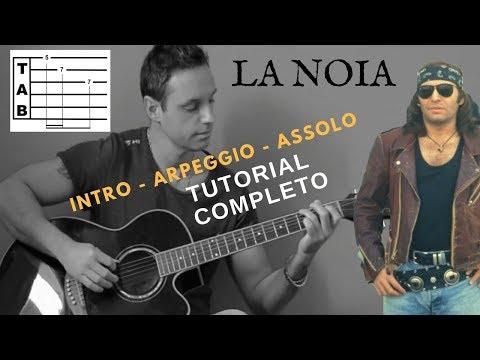 Vasco Rossi - La Noia Tutorial completo (TAB) versione originale