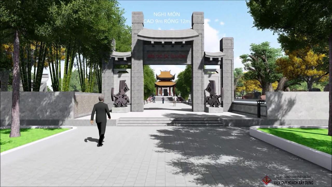 Đền thờ các Vua Hùng tại TP. Cần Thơ _ Viện quy hoạch xây dựng TP. Cần Thơ