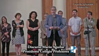 DISCURSO MARIO AGUILAR EN LICEO APLICACION