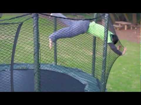 AlleyOop Sports DoubleBed Trampoline Safety Review!