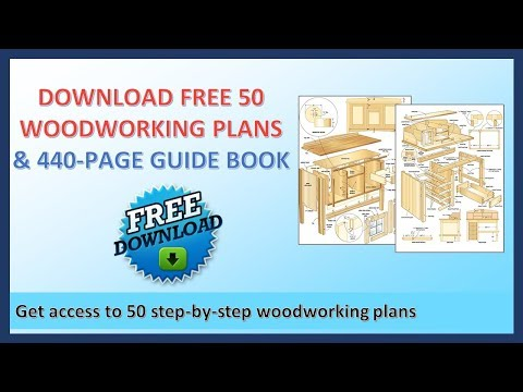 Do It Yourself Woodworking Projects | Download 50 Woodworking Plans for FREE! ⤵️