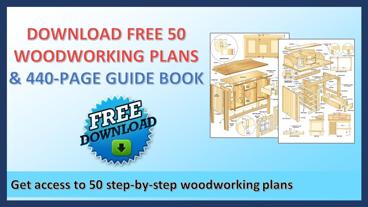 Do It Yourself Woodworking Projects Download 50 Woodworking Plans