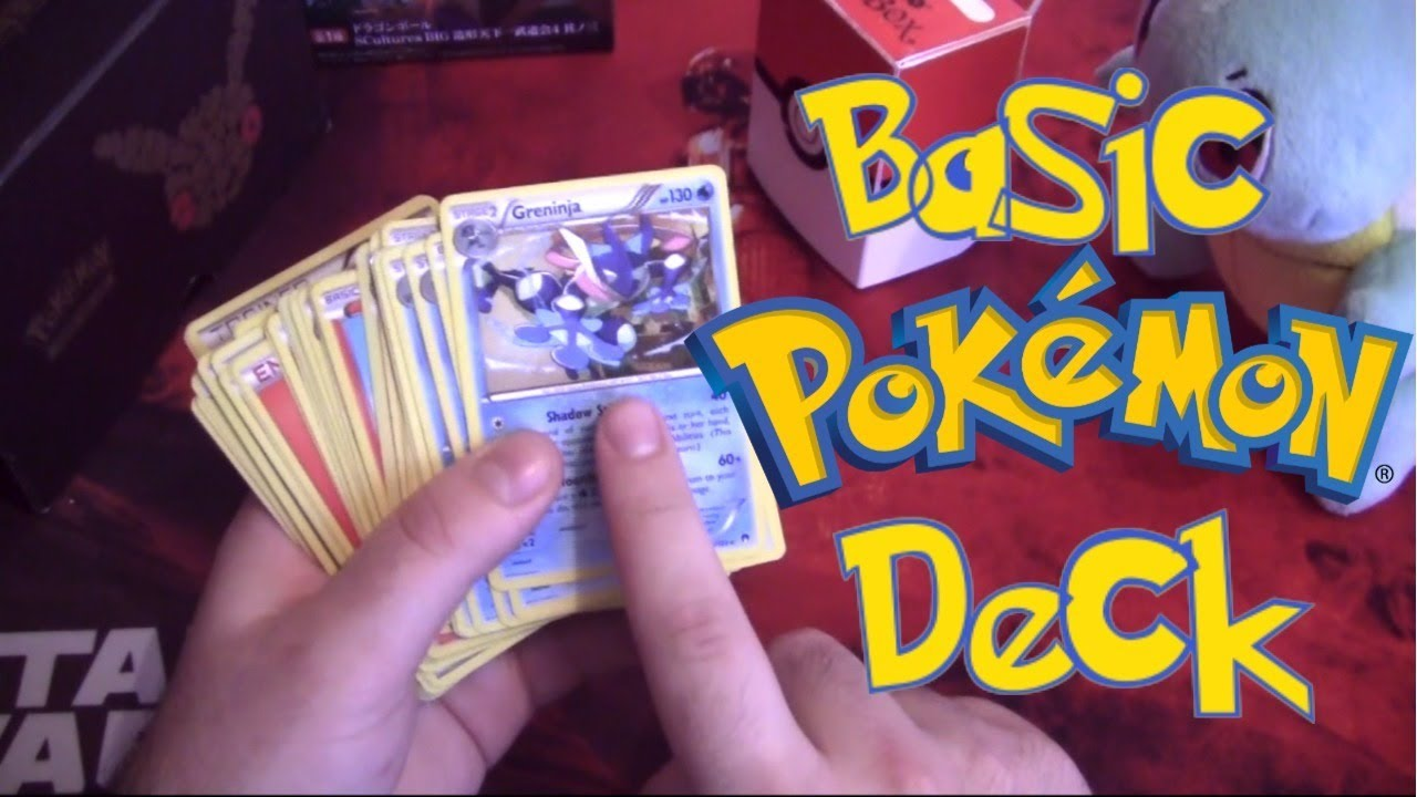 How To Build A Basic Pokemon Deck Youtube