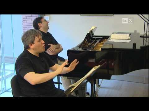 Dmitri Hvorostovsky on Italian TV ( Un Ballo in Maschera - Rome ) Part 2/2