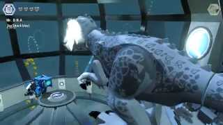 LEGO Jurassic World ENDING - Final Boss Indominus Rex Vs. T-Rex (Xbox One, PS4 Gameplay)