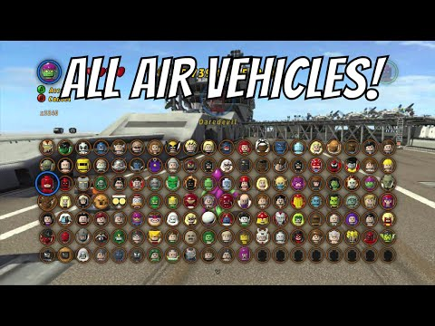LEGO Marvel Superheroes - A look at all the Air Vehicles ...