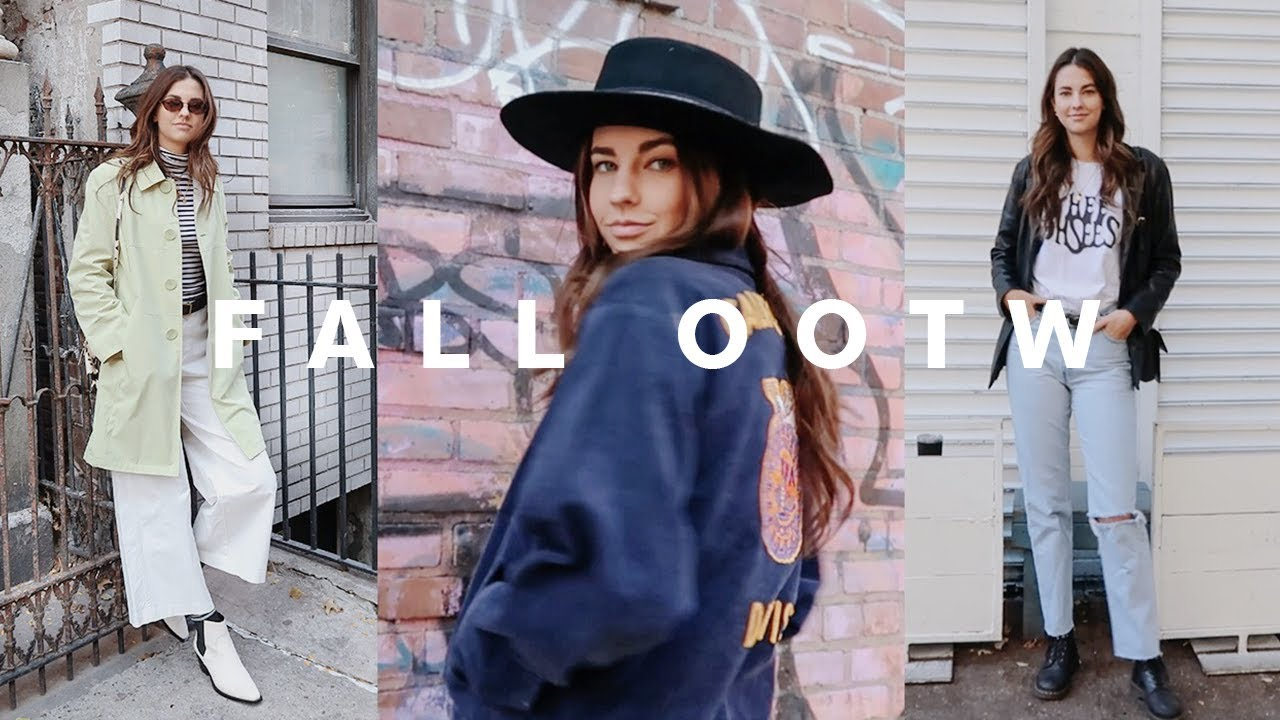 [VIDEO] - my fall thrifted outfits of the week in nyc! 9