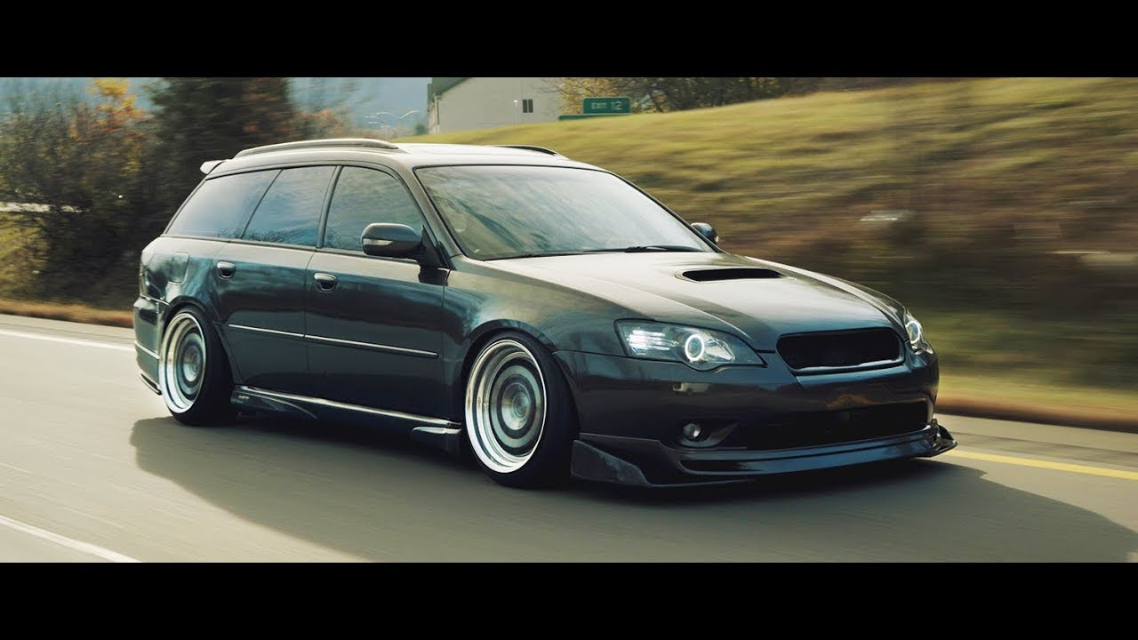 Subaru liberty wagon custom