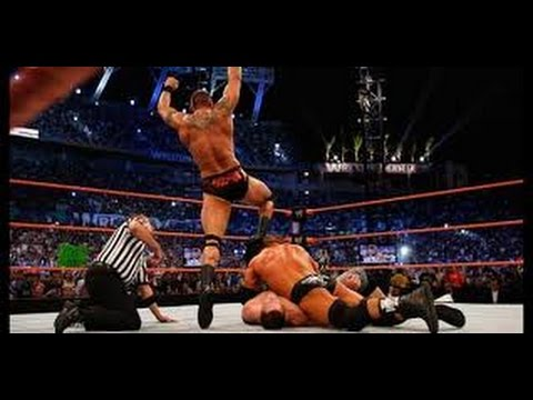 WRESTLEMANIA 25 TRIPLE H VS RANDY ORTON WWE CHAMPIONSHIP