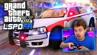GTA 5 LSPDFR Dodge Magnum Police Car!? You don't see that every day! (GTA 5 Police Mod)