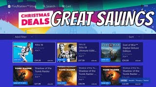 PS4 CHRISTMAS DEALS - NEW PS4 Games 50% OFF HOLIDAY SALE E.U.